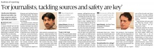 Report Express Tribune carried on media discussion at T2F