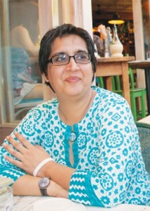 File photo of late Sabeen Mahmud